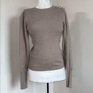 Belldini Ribbed Sweater